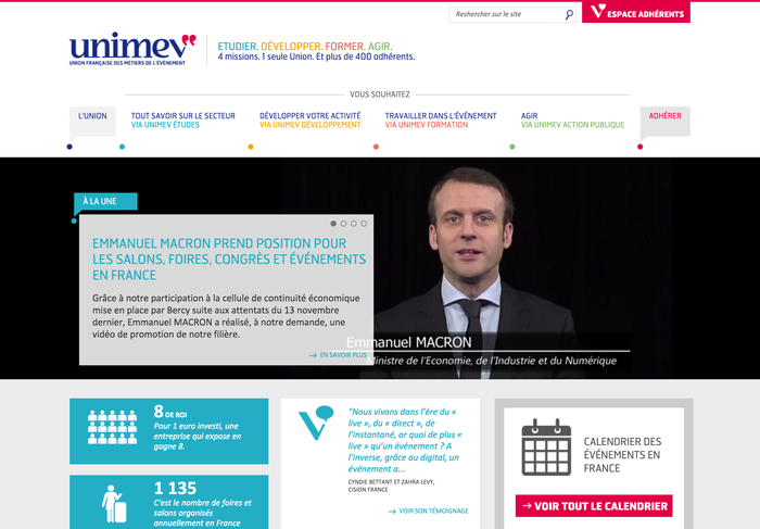 Unimev identity and website 2
