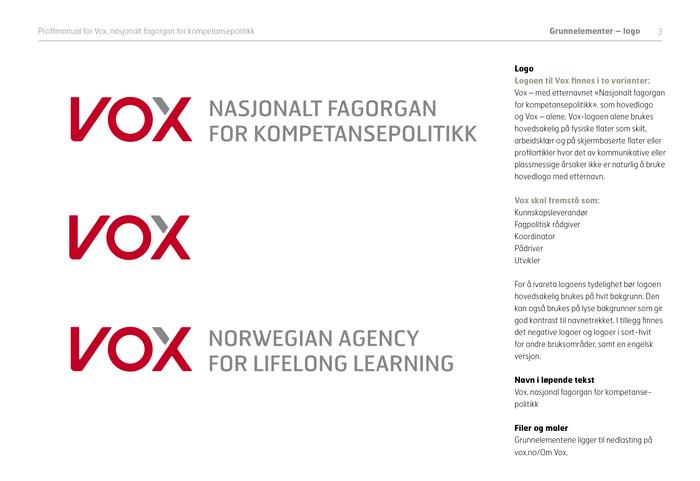 Vox: Nasjonalt Fagorgan for Kompetansepolitikk 2