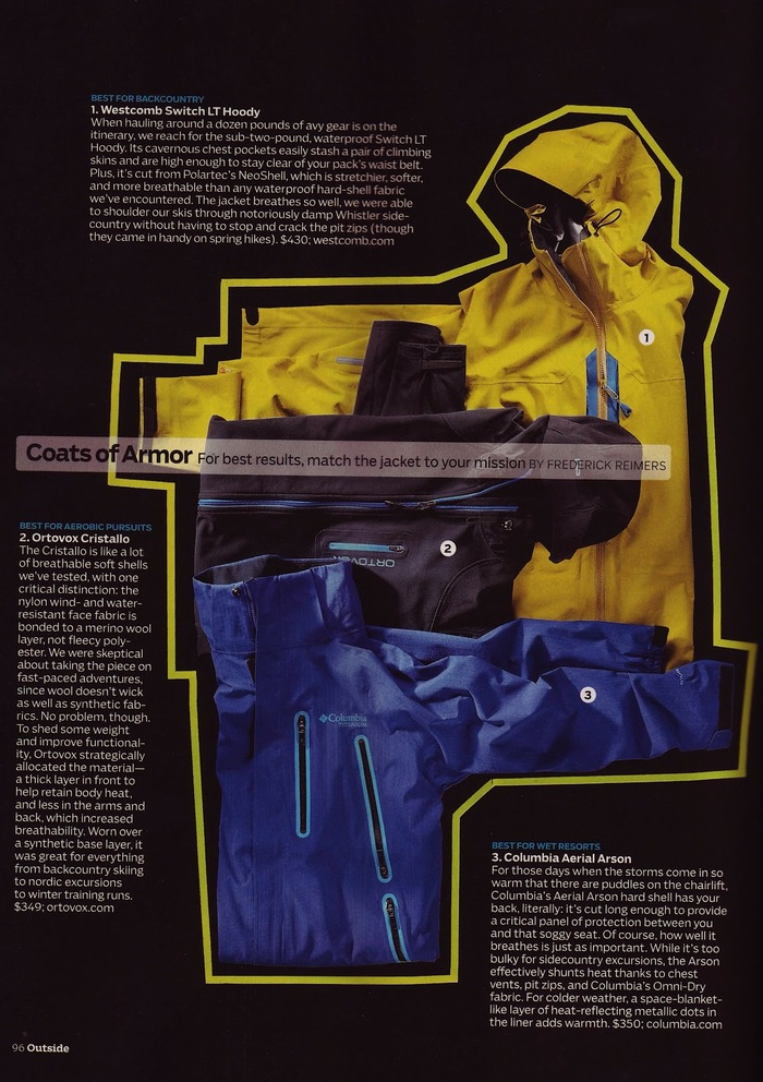 Outside magazine, 2011–15 3