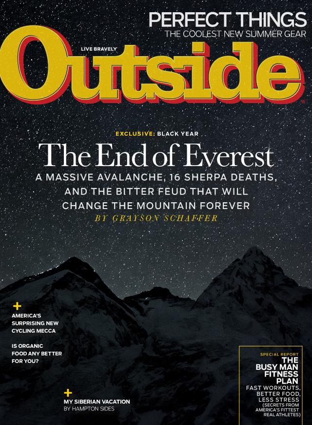 Outside magazine, 2011–15 6