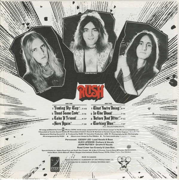 Rush (self-titled LP) 2