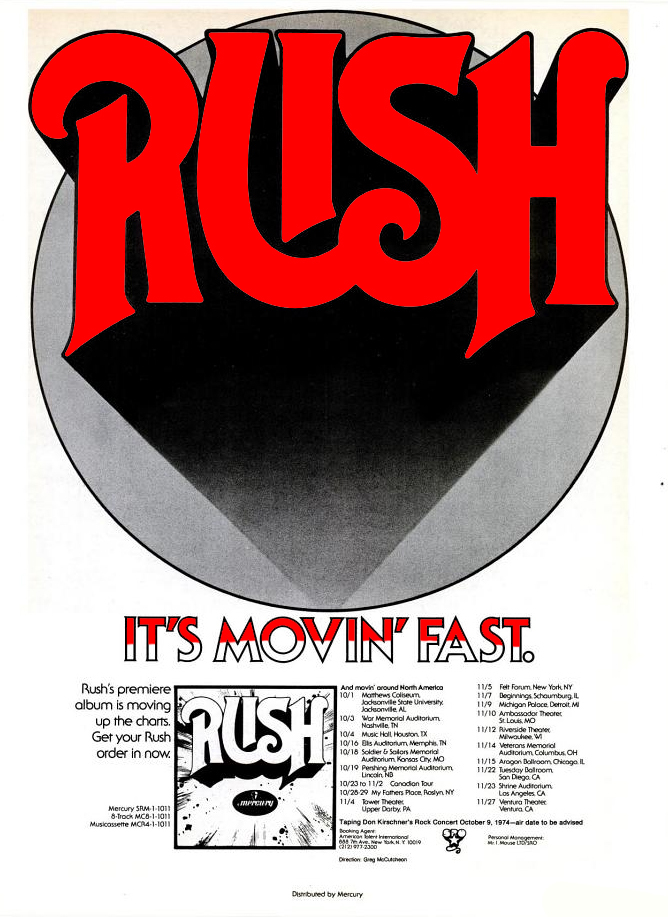 First Album Advertising 1974