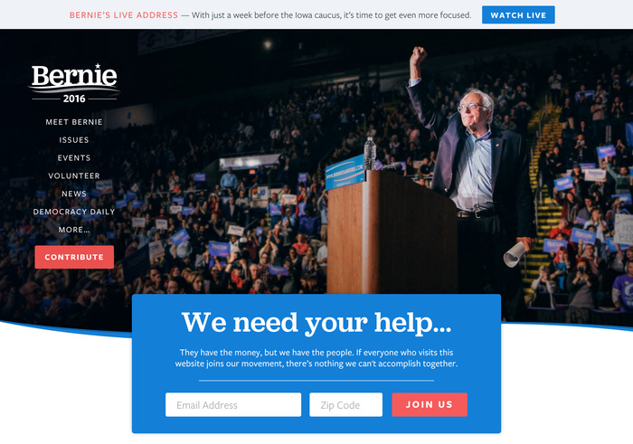 Bernie Sanders for President 2016 6