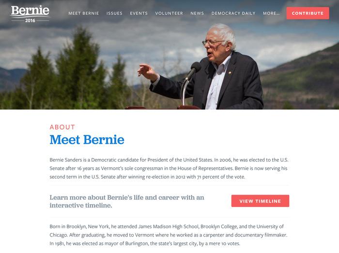 Bernie Sanders for President 2016 7