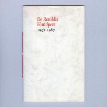 <cite>De Renildis Handpers 1957–1987</cite>