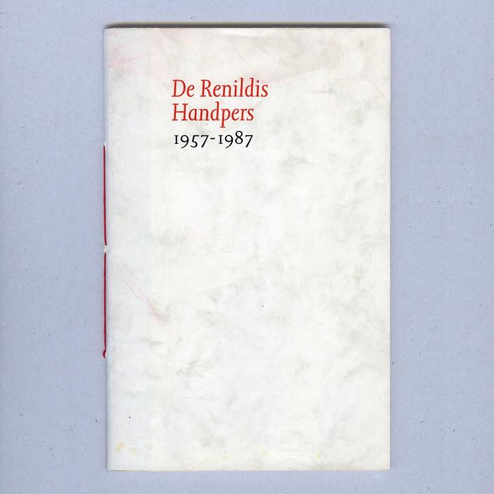 De Renildis Handpers 1957–1987 1
