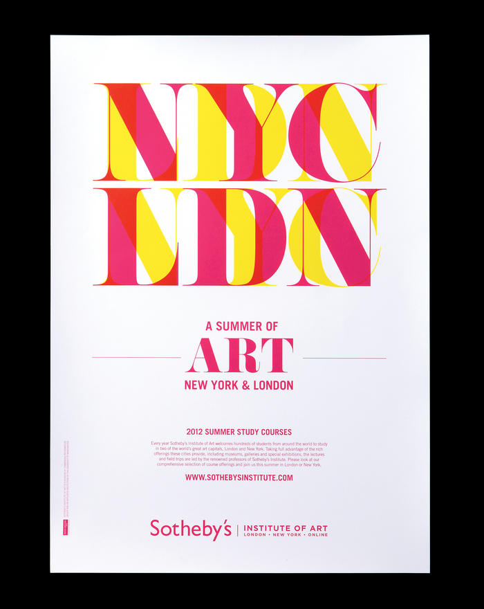 Sotheby's Summer Study Poster 2