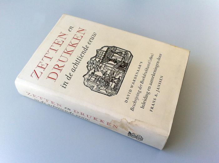 Zetten en drukken in de achttiende eeuw 1