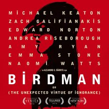 <cite>Birdman</cite> poster and opening credits