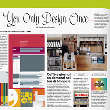 """You Only Design Once"" column in <cite>IL</cite> magazine"