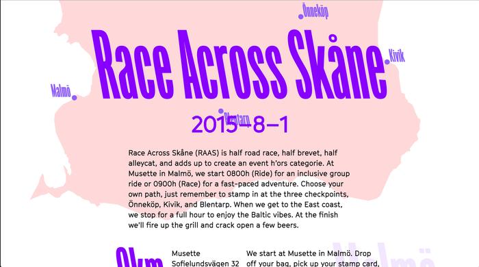 Race Across Skåne 2015 1