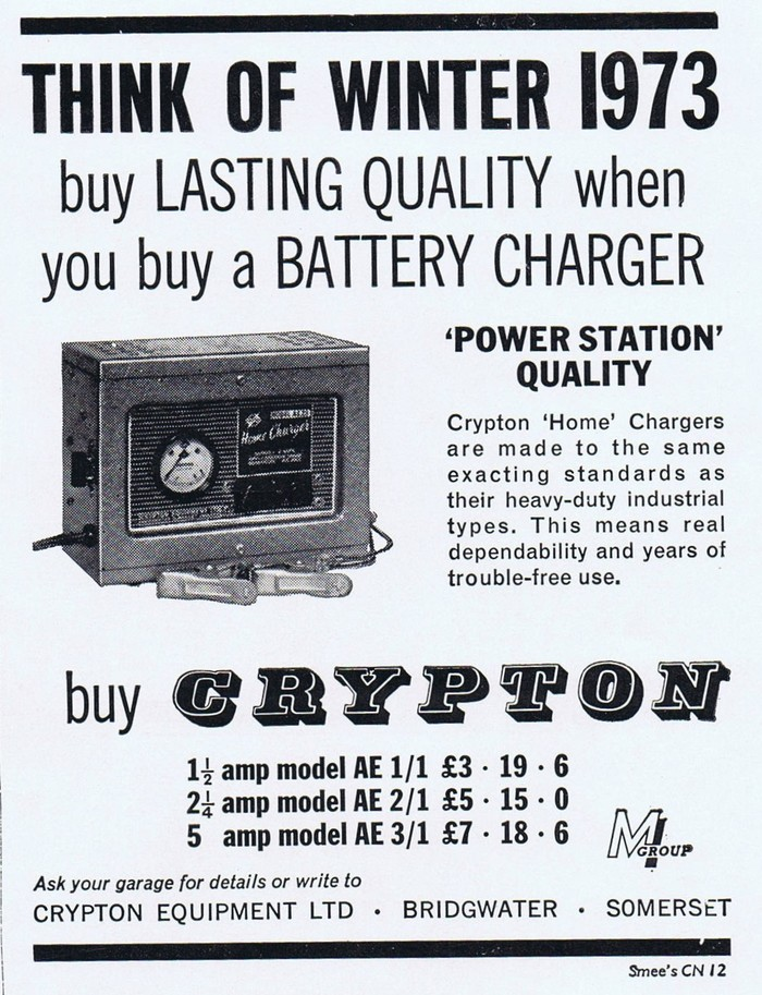 Newspaper ad from 1963