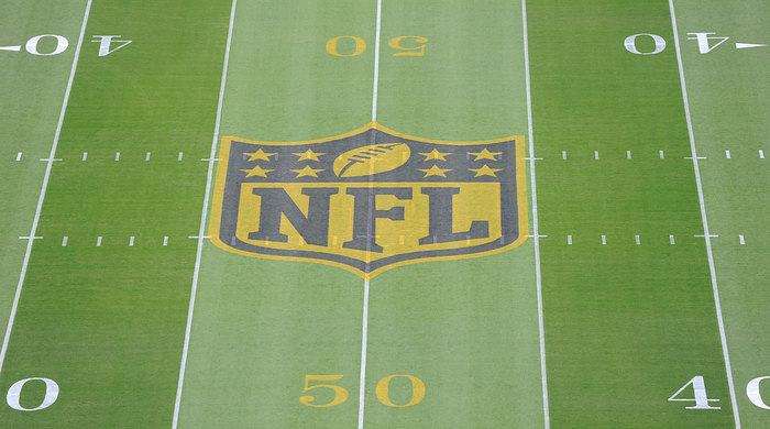 Super Bowl 50 field.