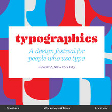 Typographics 2016 website