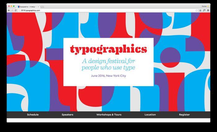 Typographics 2016 website 1