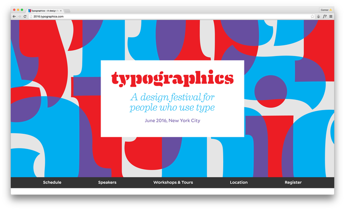 Typographics 2016 website 1