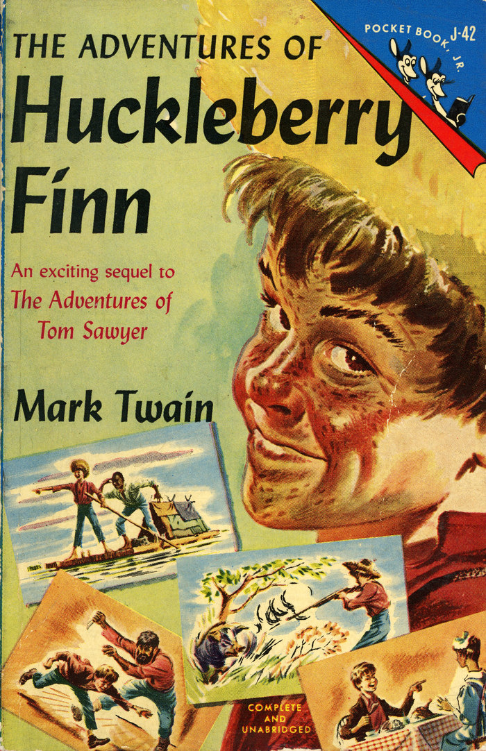 The Adventures of Huckleberry Finn (Pocket Book, Jr.)