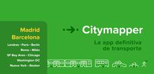 Citymapper identity (2013–)