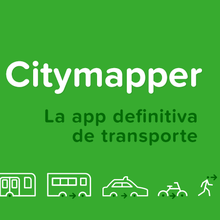 Citymapper identity (2013–)
