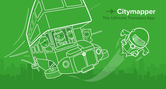 Citymapper identity (2013–) 2