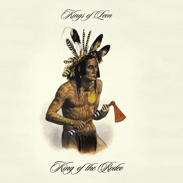 King Of The Rodeo single, April 2005, using Karl Bodmer's portrait of Mato Tope, a Mandan chief.