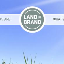 Land to Brand website