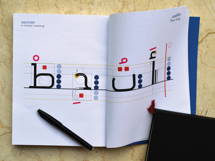 Architecture of the Arabic Letters in Motion 2