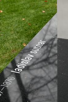 Ladislav Sutnar's gravestone