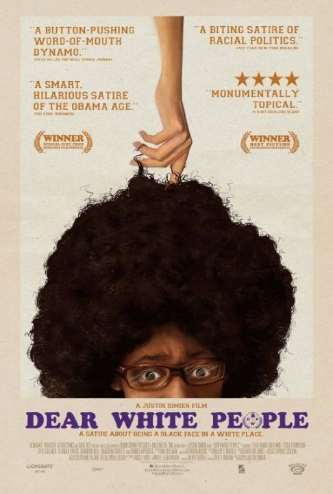 Dear White People movie poster 4