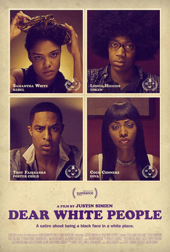 Dear White People movie poster 2