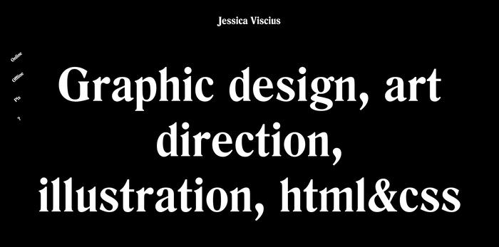 Jessica Viscius portfolio site 3