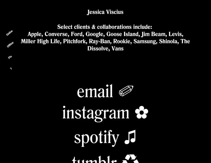 Jessica Viscius portfolio site 4