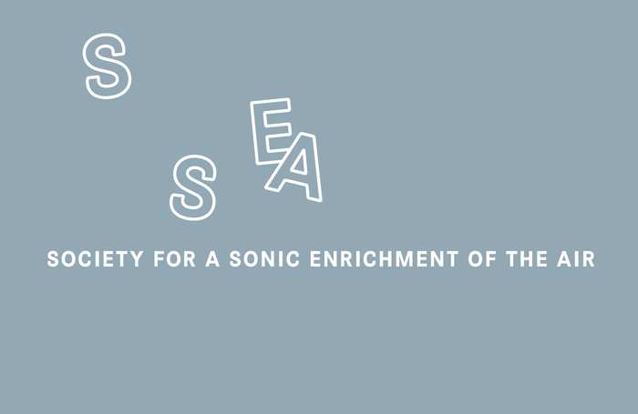 Society for a Sonic Enrichment of the Air logo 2
