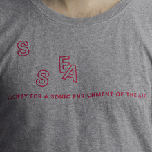 <cite>Society for a Sonic Enrichment of the Air</cite> logo