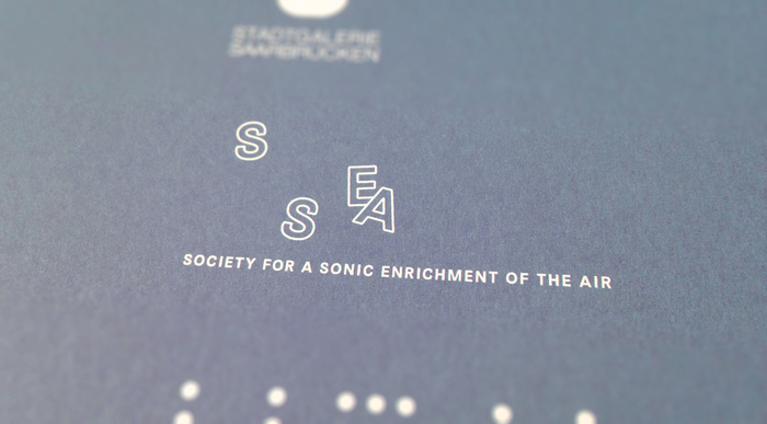 Society for a Sonic Enrichment of the Air logo 3