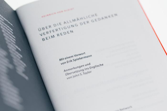 Über die allmähliche Verfertigung der Gedanken beim Reden by Heinrich von Kleist 4