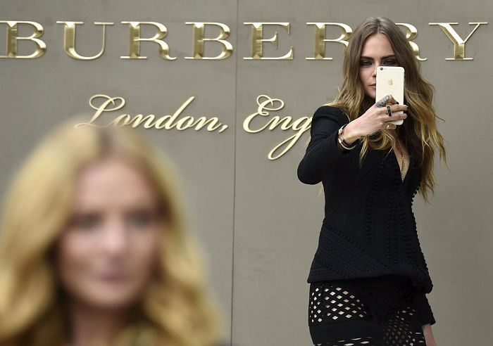 Burberry show, London 1