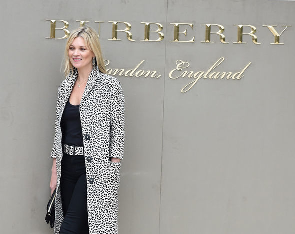Burberry show, London 2