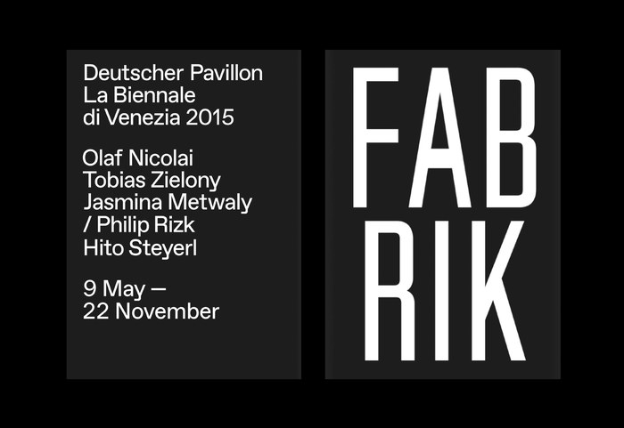 La Biennale di Venezia: Fabrik 2