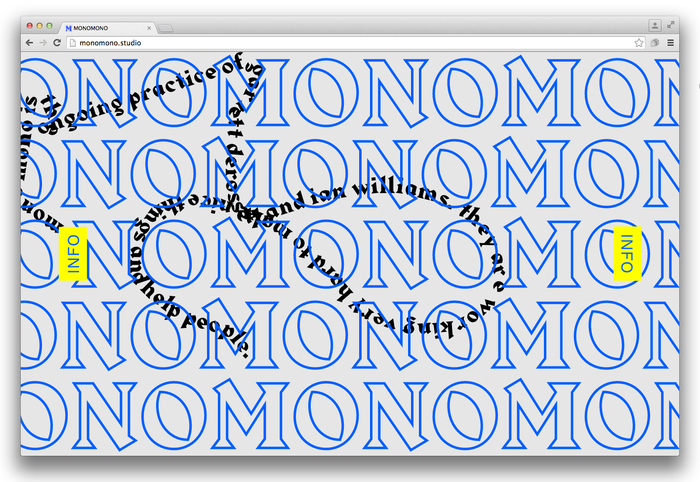 Mono Mono website 2