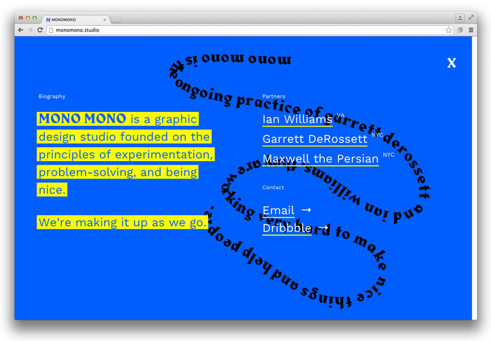 Mono Mono website 6