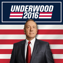 <cite>House of Cards:</cite> Frank Underwood presidential campaign, 2016