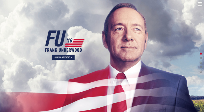 House of Cards: Frank Underwood presidential campaign, 2016 2