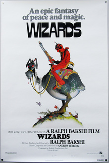 <cite>Wizards</cite> poster and titles