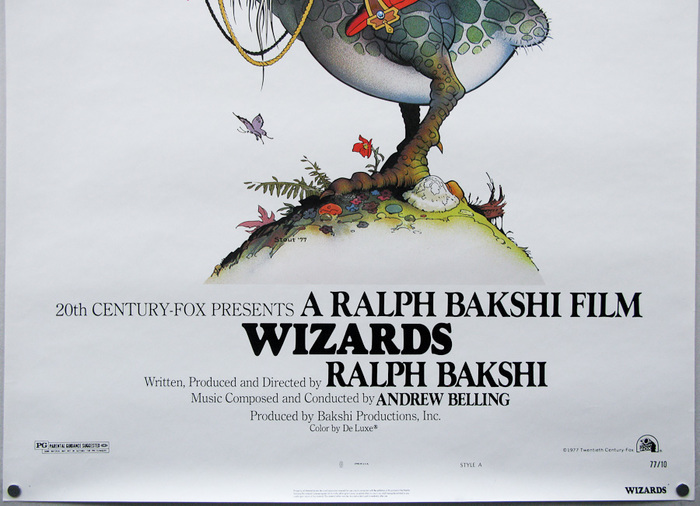 Wizards poster and titles 3