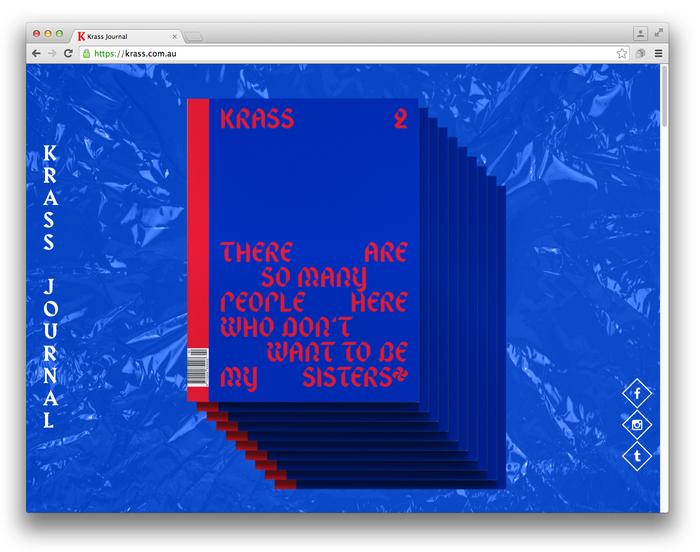 Krass Journal website (2014) 1