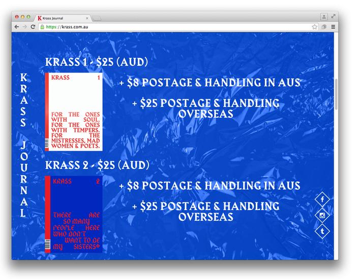 Krass Journal website (2014) 2