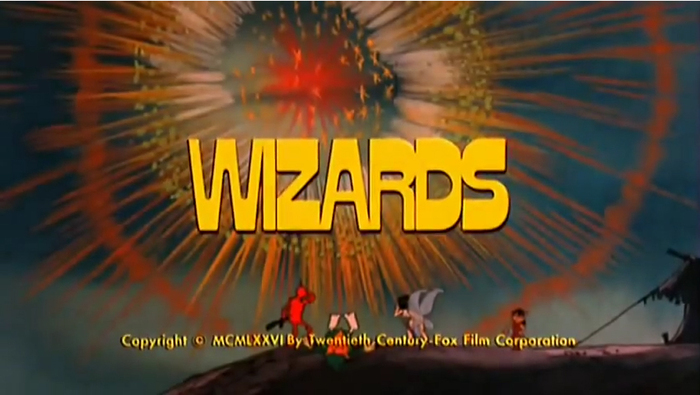 Wizards poster and titles 6
