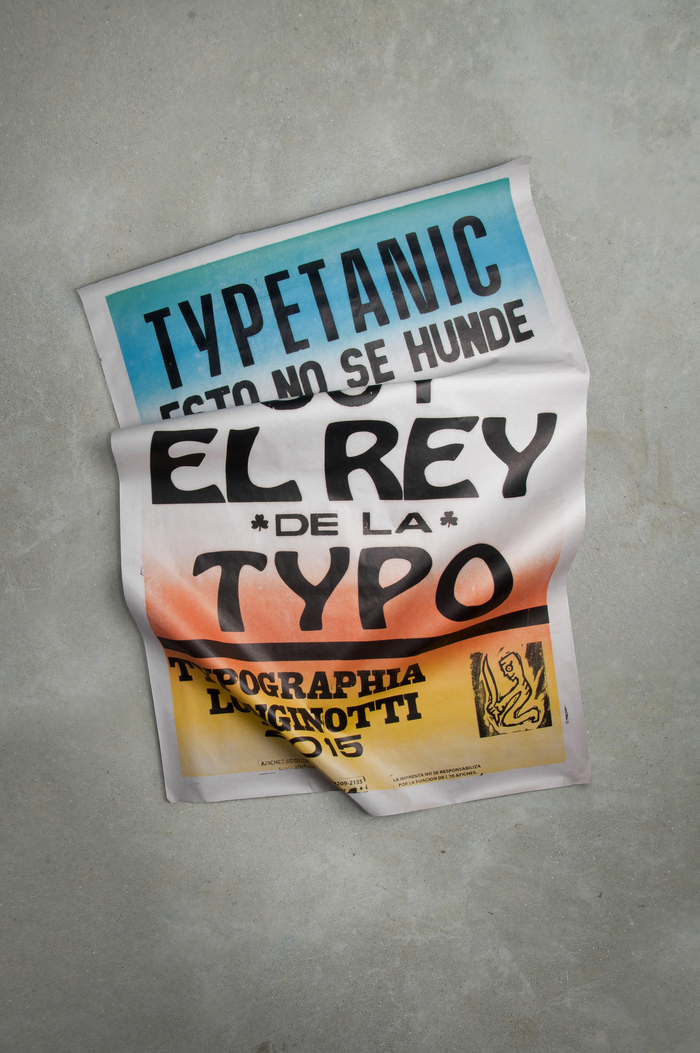 "Typetanic — ""I'm the King of Type"" 3"