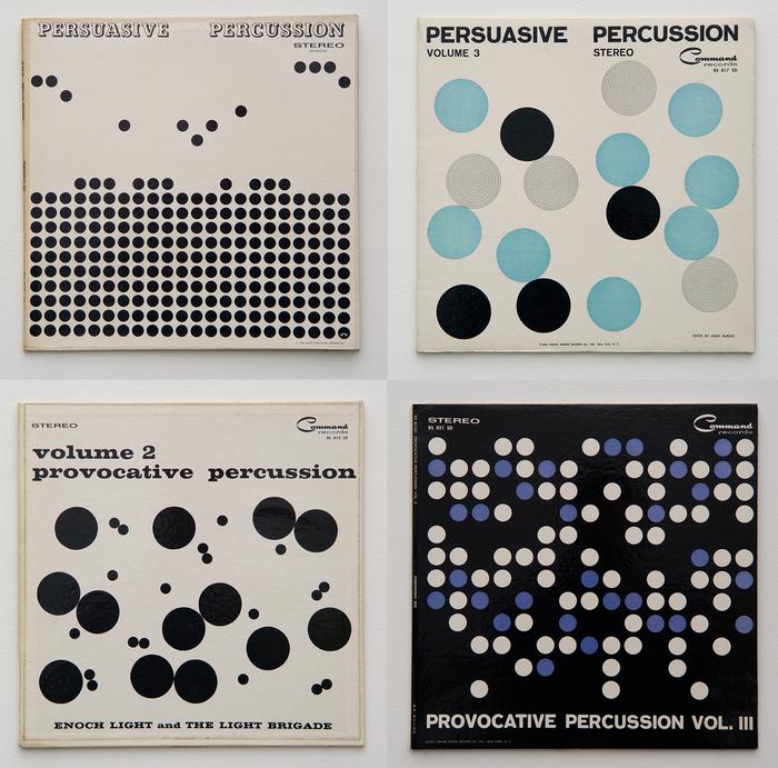 Percussion series album art (Command Records) 2